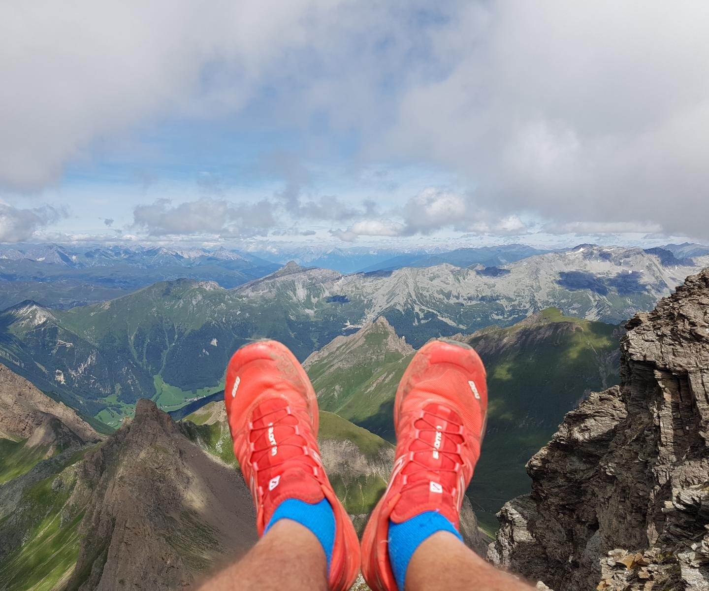 2 days to go – Salomon Alpen X1oo