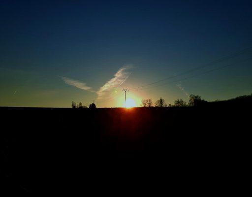 Sonnenaufgang Mullerthal