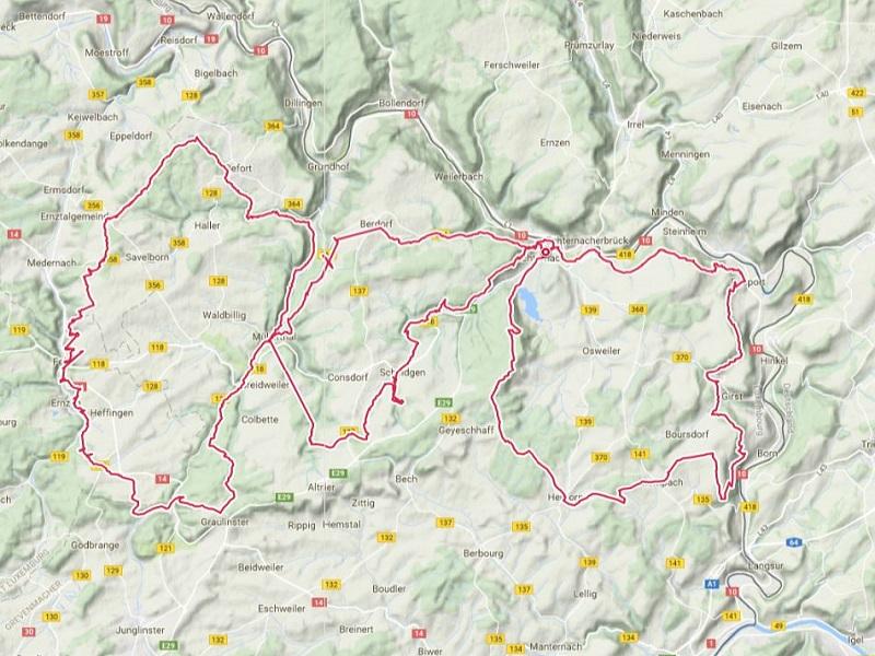 UTML – Ultra Trail Mullerthal